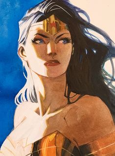 Wonder Woman by Dan Mora * - Art Vault Wonder Woman Art, Wonder Woman Comic, Batman, Superman, Dan Mora, Art Eras, Mundo Comic, Dc Comics Art, Comic Artist