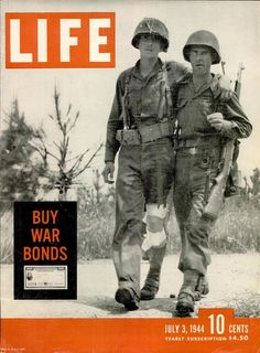July 3, 1944, cover of LIFE.