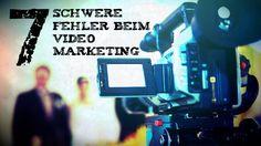 Video Marketing: 7 schwere Fehler, die du auf gar keinen Fall machen darfst! http://tantau.co/KF8zB