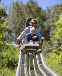 Glenwood Caverns Adventure Park: Alpin Coaster. Glenwood Springs, Colorado.