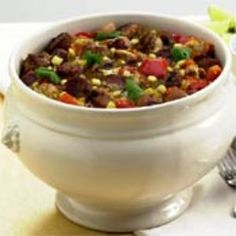 Southwestern Chicken and Sausage Stew with Chile-Cilantro Paste