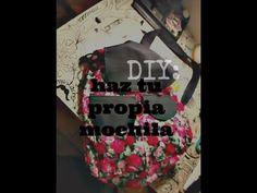 DIY - Haz tu propia mochila