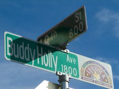 Buddy Holly Avenue, Lubbock, Texas, USA Photographic Print