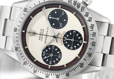 Rolex Cosmograph Daytona Retailed By Tiffany & Co. Paul Newman Model Ref. 6239 Case No. 1'874'323