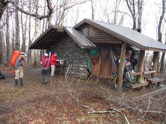Silverback's 2015 Appalachian Trail Photos : Derrick Knob Shelter