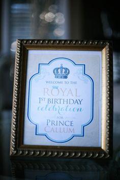 A Royal Affair 1st Birthday Party