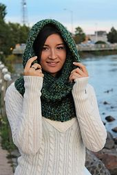 The Un'bear'ably Cute Cowl Crochet Paid Pattern