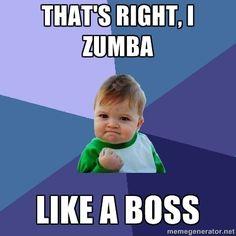 Zumba like a boss