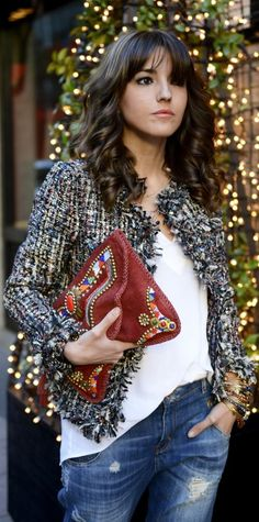 Image result for chanel tweed jacket