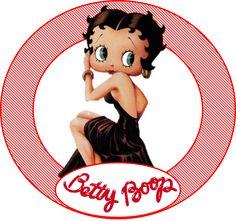 Imagenes Betty Boop, Betty Boop Birthday, Black Betty Boop, Betty Boop Cartoon, Barbie, Cartoon Characters, Fictional Characters, Kit, Decoupage