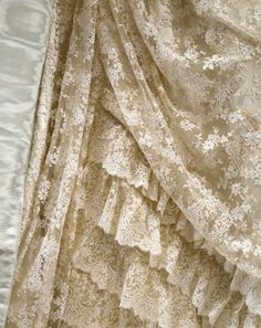 Ball gown | ca. 1885 (made) | detail