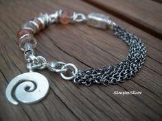 Handgemachter Schmuck Sterling Kette Armband von SimpleeSilver