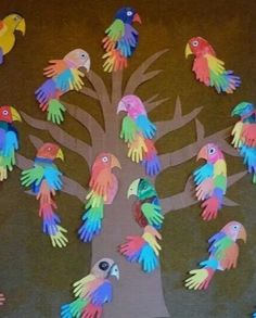 Cute idea to let our children's church help with decor