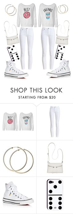 """""""Best Friends matching outfits"""" by ayakkuot on Polyvore featuring Barbour, Bueno and Converse"""