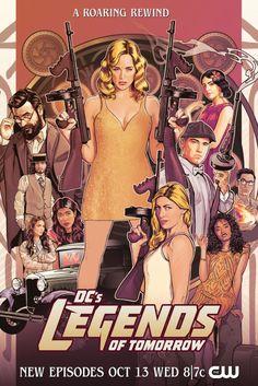 Legends Of Tommorow, Dc Legends Of Tomorrow, Seasons Posters, Cw Dc, Keys Art, New Wife, Comics Universe, Batwoman, Season 7