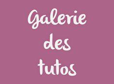 DIY - Tutoriels : Galerie des tutos couture et bricolage de *Tadaam!