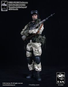 DAM 93006 Delta Force Marksman Task Force Ranger Toy Soldiers