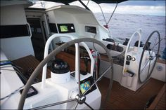 Garcia Exploration 45 Aventura - Jimmy Cornell article about the thought behind design decisions, ideal cruising boat, high latitude, northwest crossing, antartica, arctic, tropics, tropical, warm water, cold water, sailboat, sailing
