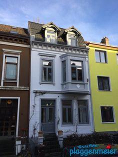 Tradition ist ein Indikator für Qualität: wir machen Aussenanstriche seit über 100 Jahren in Bremen - unsere halten auch einfach länger! Maler aus Bremen.