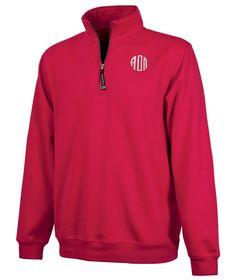 Alpha Omicron Pi Monogrammed Fashion Pullover from GreekGear.com