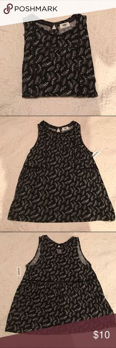 Old Navy Dress Tank Super fun print! I bought this when I was getting work clothes for summer but never got around to wearing it! NWT. Open to offers but no trades please! Old Navy Tops Blouses