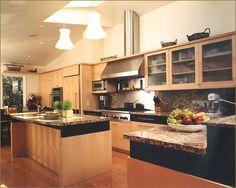 Modern kitchen.