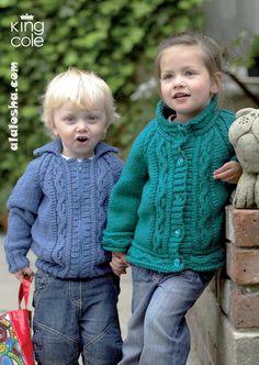 ALALOSHA: VOGUE ENFANTS: Babies in knitwear