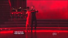 Derek Hough and Kellie Pickler dancing Argentine Tango on DWTS 5-13-13