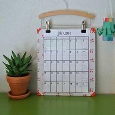 Zelf kalender maken  By MiekK