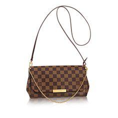 Favorite MM Damier Azur Canvas - Handtaschen   LOUIS VUITTON