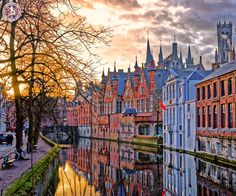 Bruges, Belgium  |  Bruges is the capital and largest city of the province of West Flanders in the Flemish Region of Belgium, in the northwest of the country.  |  Book Now: http://www.callcheapflights.uk/?utm_source=pinterest&utm_medium=social&utm_campaign=bruges-belgium&utm_term=belgium  |  #travel #europe #belgium #bruges #callcheapflights