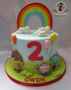 Hey Duggee Cake Hey Duggee cake Peppa Pig Birthday Cake, Birthday Cake Girls, 2nd Birthday Parties, Baby Birthday, Birthday Ideas, Girly Cakes, Novelty Cakes, Creative Cakes, Candyland