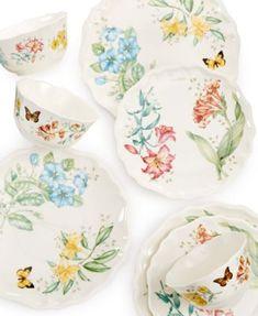 Lenox Butterfly Meadow Melamine Dinnerware Collection