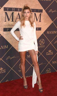Hailey Baldwin || The 2017 MAXIM Hot 100 Party (June 24, 2017)