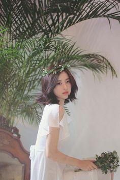 milkcocoa Korea Fashion, Asian Fashion, Korean Beauty, Asian Beauty, Yoon Sun Young, Cute Faces, Ulzzang Girl, Her Hair, Cute Girls