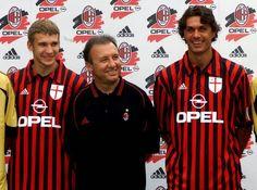Ac Milan, Football Uniforms, Football Players, Club, Adidas, Sports, Grande, Squad, Legends