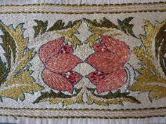 May Morris 1880-1900 | Morris & Company | Meg Andrews - Antique Costumes and Textiles