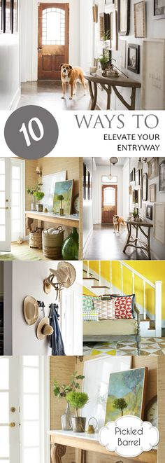 10 Ways to Elevate Your Entryway| How to Decorate Your Entry Way, DIY Entry Way Projects, DIY Home, Home Decor, Home Decor and Design, Interior Design Ideas, Home Decor Tips and Tricks