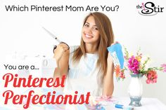 I took Quiz: Has Pinterest Taken Over Your Family?and got Pinterest Perfectionist. Take the quiz on The Stir to see what you get!