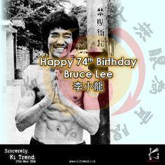 #HappyBirthday to the little dragon, Bruce Lee.  From #martialart enthusiasts #KiTrend, 27 Nov 2014.  http://www.kitrend.com/happy-74th-birthday-bruce-lee/  #BruceLee #dragon #JeetKuneDo #HongKong #OrderNow #pormotion #OnlineBusiness #Supplier #GymOwner #sportswear #retailers #SupplierFashion #AffiliateMarketing #fitness #sports #tshirt #clothing #fashion #graphicdesign #screenprinting #MMA #Karate #MuayThai #Taekwondo #Silat #Wushu #Judo #Aikido #Capoeira #runner #cyclist #marathon…
