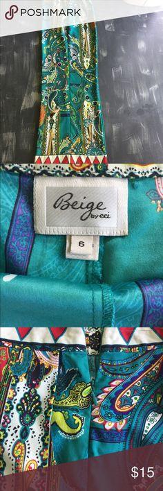 Beige By Eci palazzo pants Size 6 Pants ECI Pants