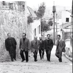 7 Famous Colombian Artists: Alejandro Obregón, Enrique Grau, Guillermo Wiedermann, Eduardo Ramírez Villamizar, Fernando Botero and Armando Villegas. Photographer: Hernán Díaz