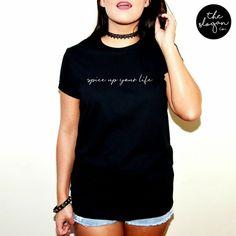 Twisted Envy Girl/'s Black kitty et chauves-souris Imprimé T-shirt en coton