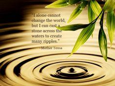 The ripple effect : Zen ! Mindfulness Meditation, Guided Meditation, Meditation Images, Meditation Space, Meditation Practices, Feng Shui, Photo Sur Plexiglas, Deco Zen, Bamboo Leaves