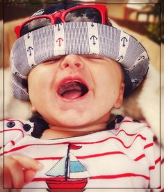 Silly Sailor Baby...best idea for a baby blog