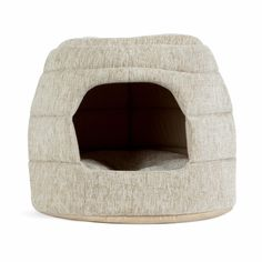 Milo 2-in-1 Pet Hut in Allure, Oatmeal