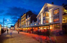 Haugesund, Norway.  Hosts the Silda Jazz festival each year.