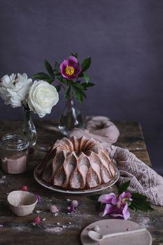Cardamom & rose bundt cake
