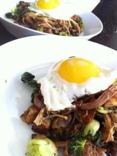 Lovely Brisket Hash from Food Karma Blog's twitter - @FoodKarmaBlog.