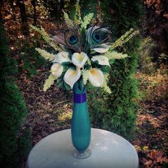 Tall centerpiece custom made in your colors and theme